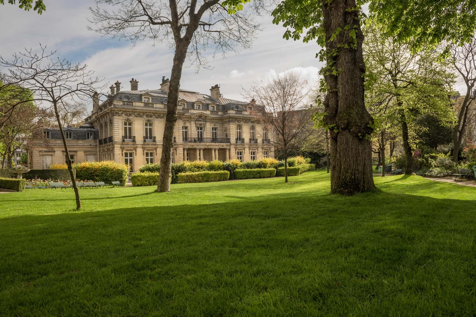 Jardin de l'Hôtel Salomon-de-Rothschild