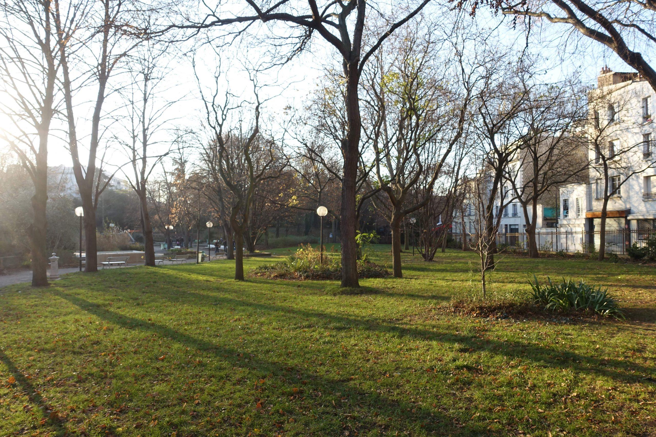 Jardin de la Gare de Charonne